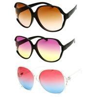 """Sonia"" UV400 Retro Fashion Thin Buttefly Frame Sunglasses"