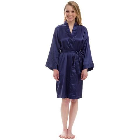 Women's Silky Satin Robe