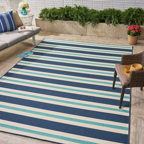 Ronan Indoor/ Outdoor Geometric Area Rug by Christopher Knight Home
