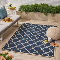 Joselyn Indoor/ Outdoor Geometric Area Rug by Christopher Knight Home - 5'x8'