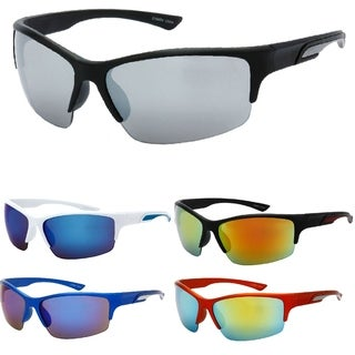 UV400 Ultra Reflective Light Weight Sport Frame Sunglasses (More options available)