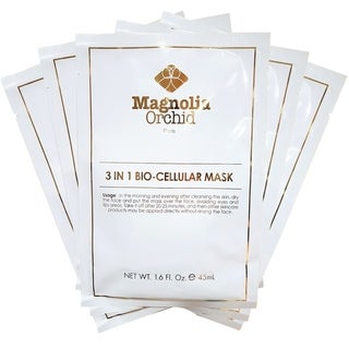 Magnolia Orchid Coconut Collagen 3 in 1 Bio-Cell Mask (Set of 5)