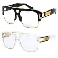 Model 50C UV400 Retro Fashion Thick Frame Glasses