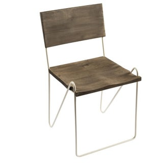 CG Sparks Handmade Marie Iron & Mango Wood Dining Chairs (SET OF 2) (India)