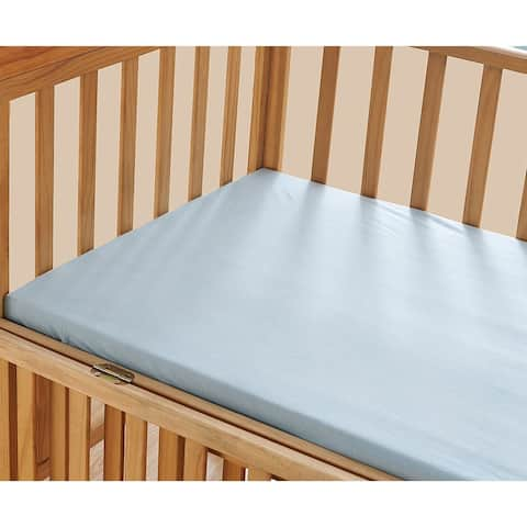 Elegant Comfort Luxury Silky Soft Baby Crib Fitted Sheet 100% Cotton Jersey Knit