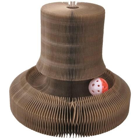 Began Turbo Transform It! Corrigated Cardboard Tower