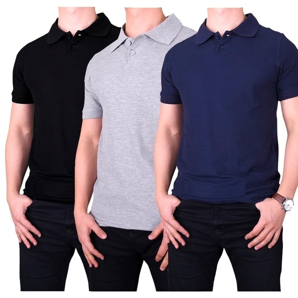 Knocker MenS Slim Polo Shirt