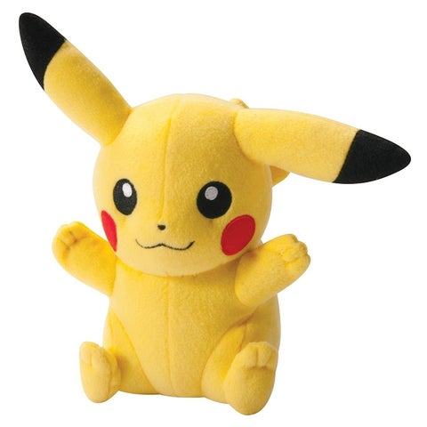 Pokemon XY 8-Inch Plush Toy - Pikachu