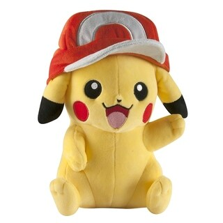 Pokemon Large Pikachu Plush Toy With Ash Hat