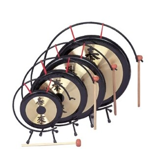 "Rhythm Band 14"" Oriental Gong with Standard Mallet"