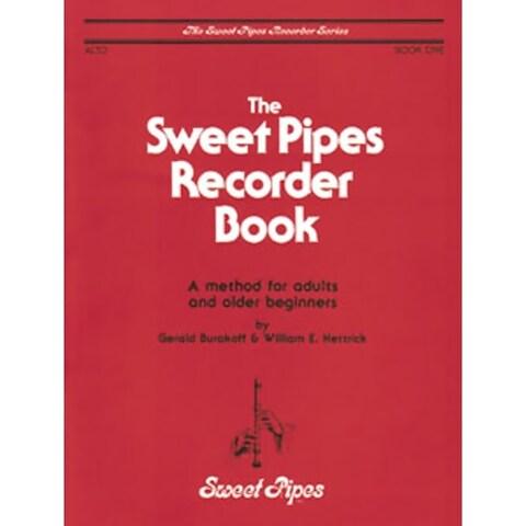 Rhythm Band Sweet Pipes Alto Recorder Book 1