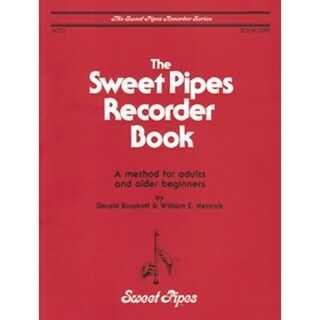 Rhythm Band Sweet Pipes Alto Recorder Book 1