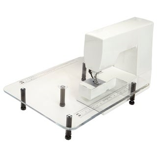 "Sew Steady 18"" x 24"" Acrylic Portable Table - White"