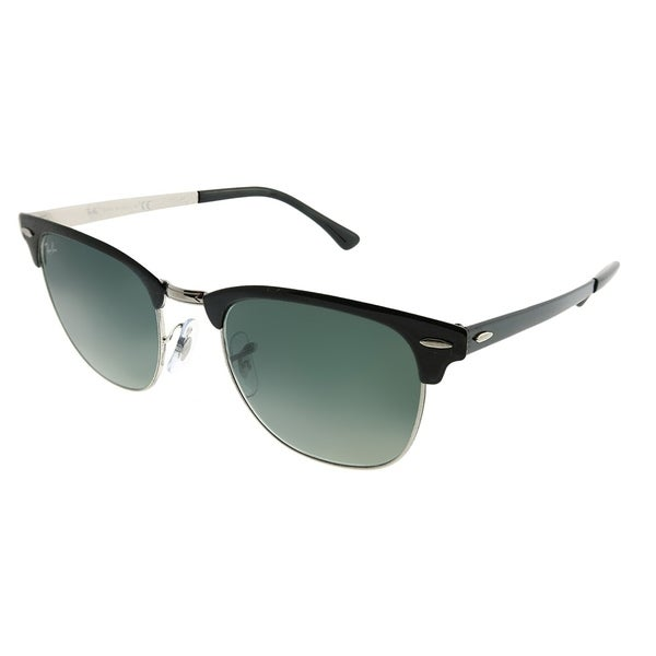 e047ebc5bc norway ray ban clubmaster rb 3716 clubmaster metal 900471 unisex black on  silver frame grey gradient