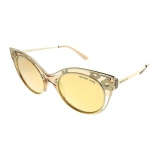 a8aeba8bda Michael Kors Cat-Eye MK 1038 Melbourne 33557J Woman Light Brown Crystal  Frame Yellow Gold