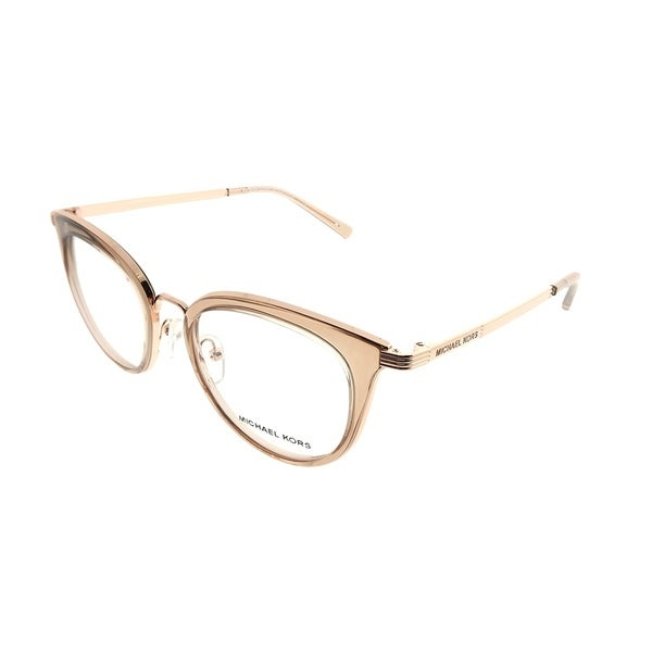 Michael Kors Round MK 3026 Aruba 3501 Woman Rose Gold Frame ...