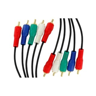 Sewell Component High Definition (RGB with Audio) RCA Audio/Video Cable - 15 ft.