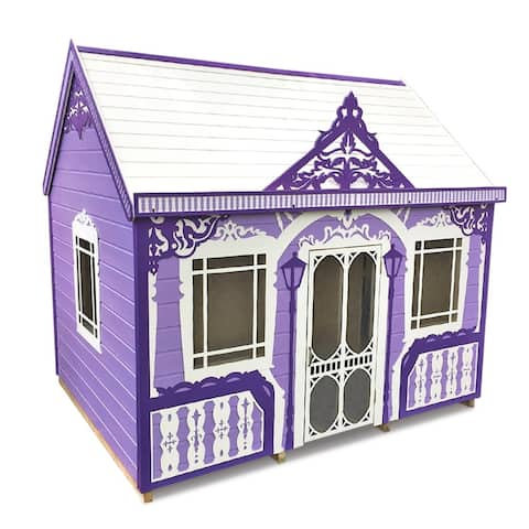 Whole Wood handcrafted and furnished playhouse Classy Vicky (6x8 ft)