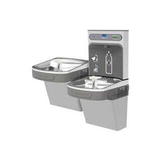 Elkay EZH2O Bottle Filling Station & Versatile Bi-Level ADA Cooler, Non-Filtered 8 GPH Light Gray - Grey