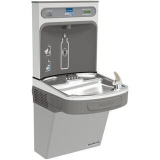 Elkay EZH2O Bottle Filling Station & Single ADA Cooler, High Efficiency Filtered 8 GPH Light Gray - Grey