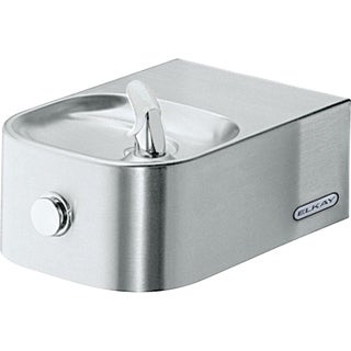 Elkay Soft Sides Single Fountain Non-Filtered Non-Refrigerated EDFP214C Stainless