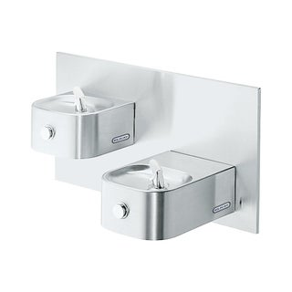 Elkay Soft Sides Bi-Level Fountain Non-Filtered Non-Refrigerated EDFP217C Stainless