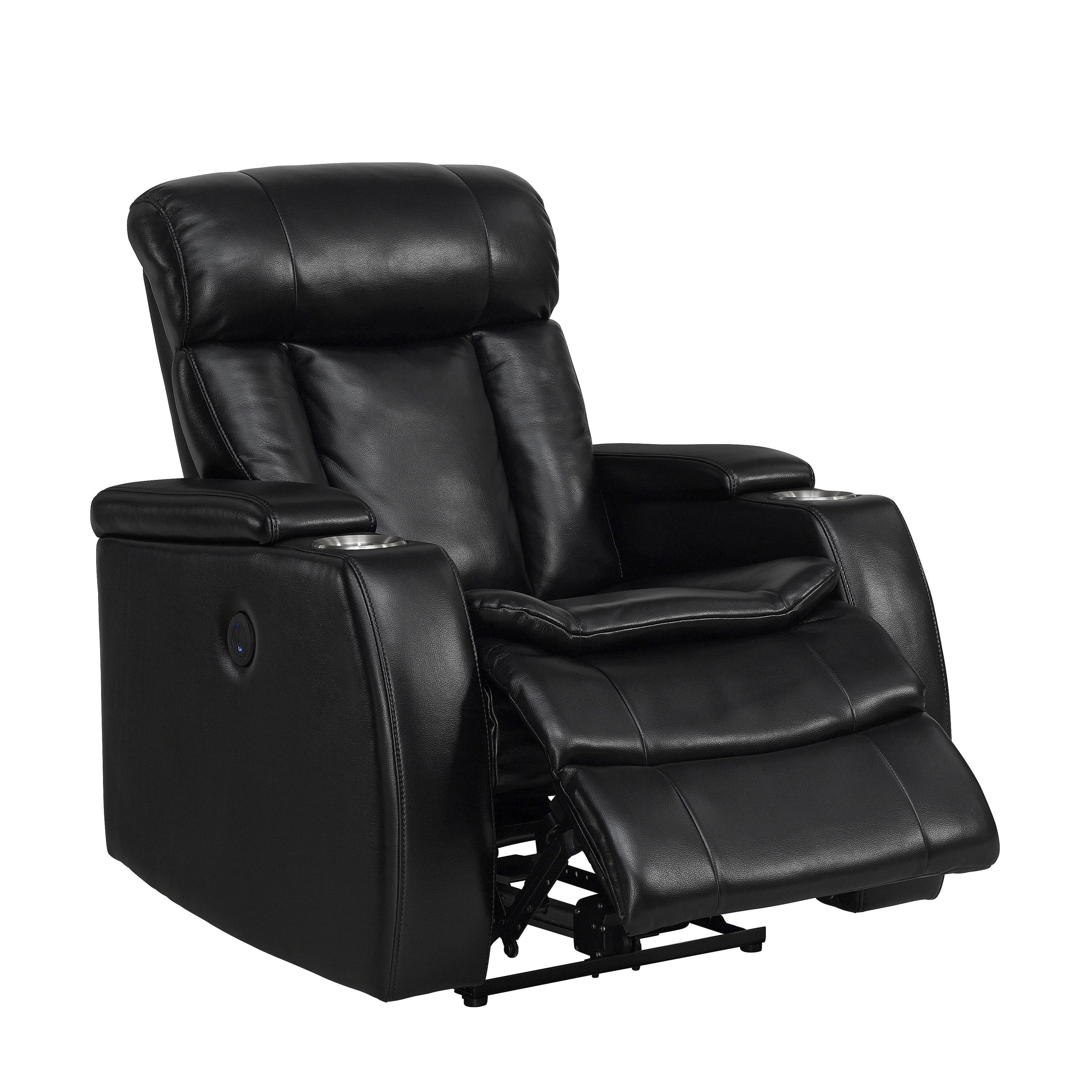 Groovy Smart Tech Power Reclining Black Recliner Chair Machost Co Dining Chair Design Ideas Machostcouk