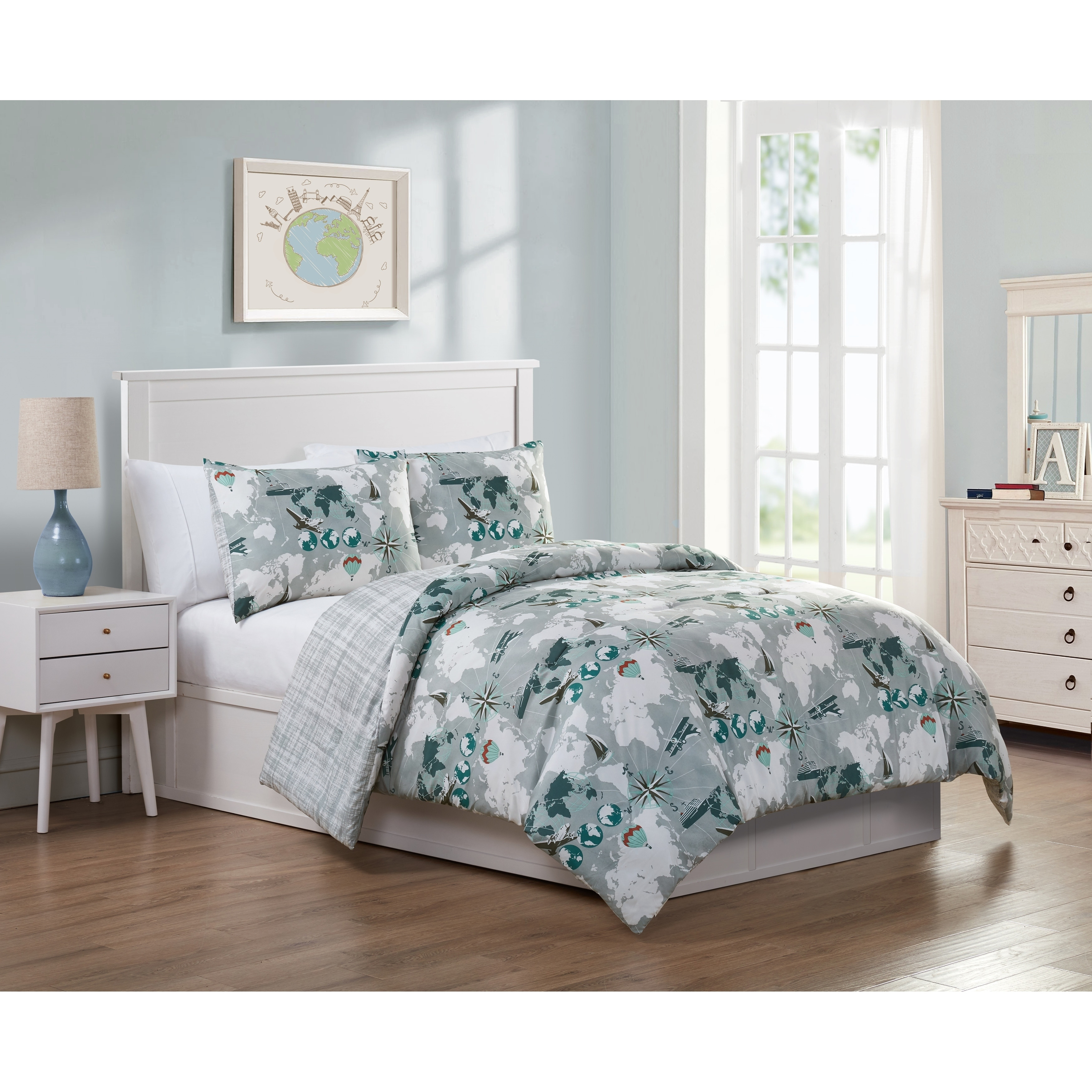 VCNY Home World Traveler Comforter Set | eBay