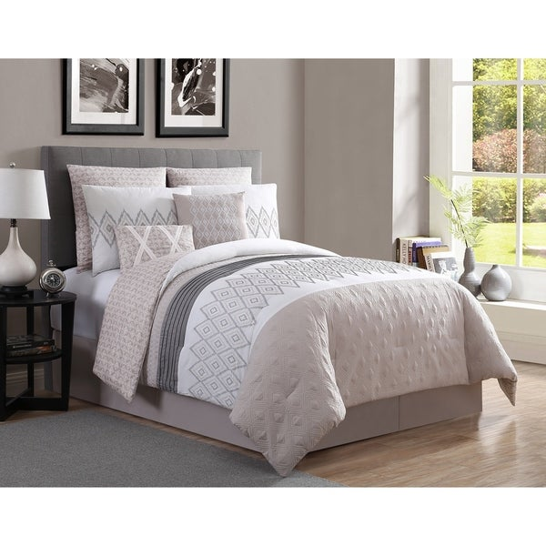 Shop Vcny Home Caprice Comforter Set Ships To Canada Overstock 22157910