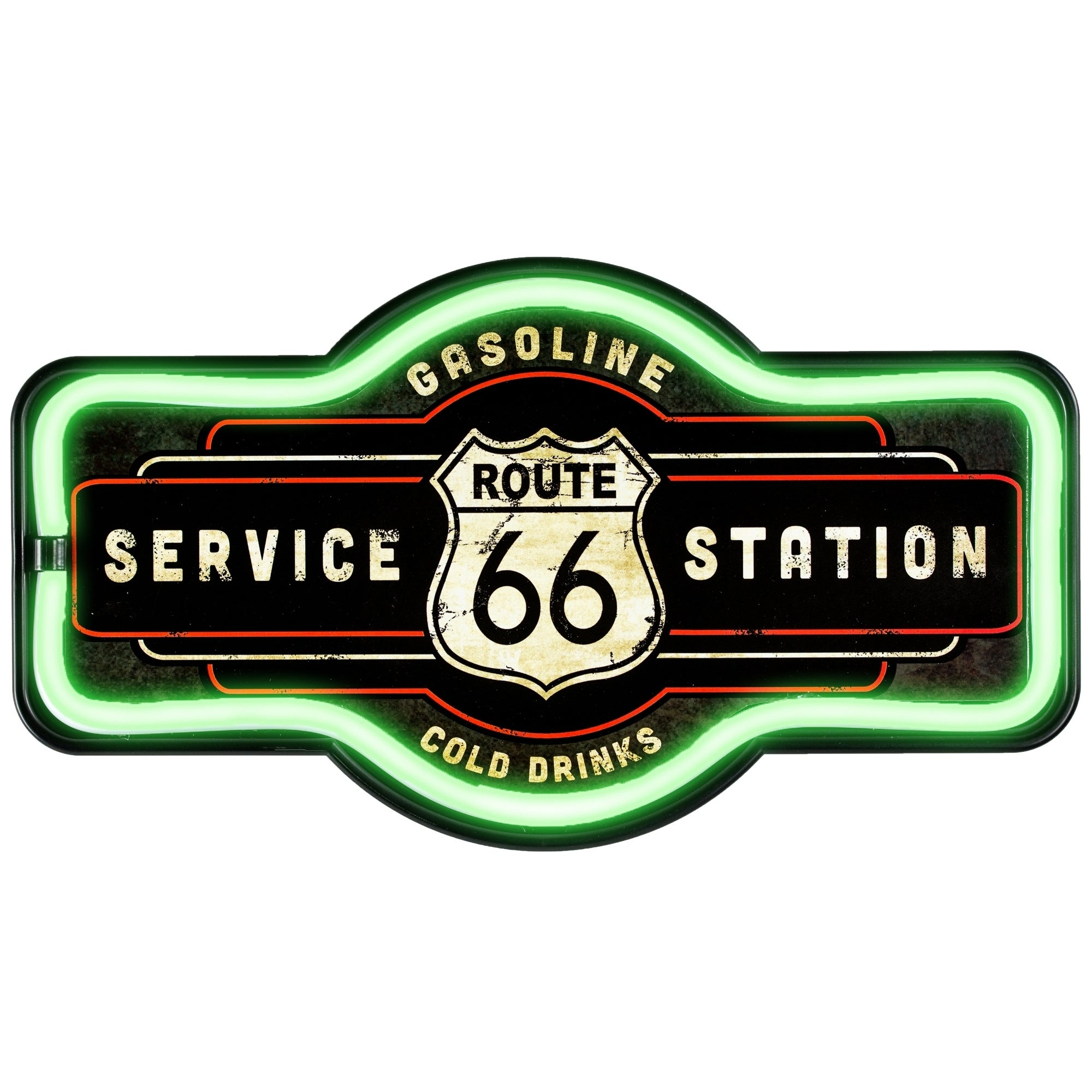 Route 66 Marquee Shaped Led Light
