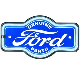 Millennium Art Vintage Ford Marquee Shaped LED Light Up Sign Wall Decor for Man Cave Bar Garage