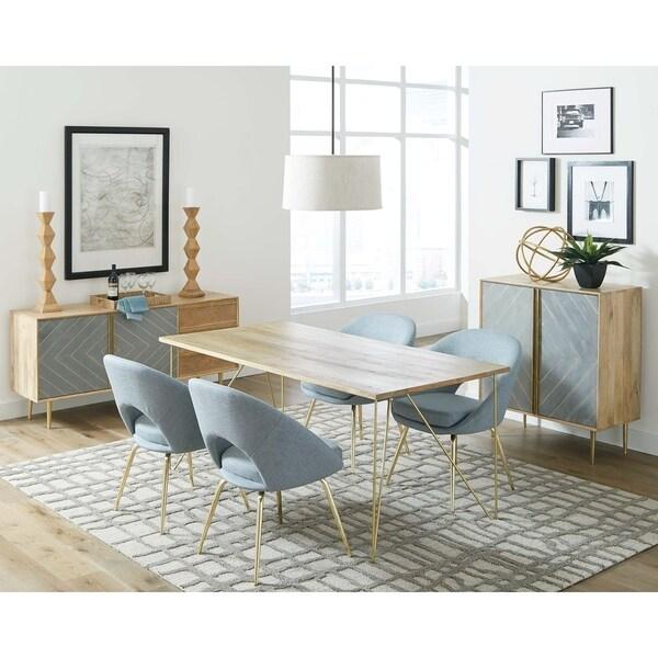 Coaster Company Modern Light Blue Dining Chair
