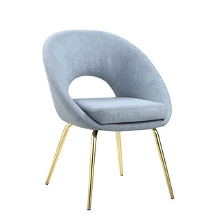Coaster Modern Light Blue Dining Chair (Set of 2)