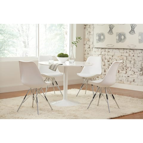 """Lowry Contemporary Dining Chair (Set of 2) - 18.75"""" x 21.75"""" x 33.50"""" - 18.75"""" x 21.75"""" x 33.50"""""""