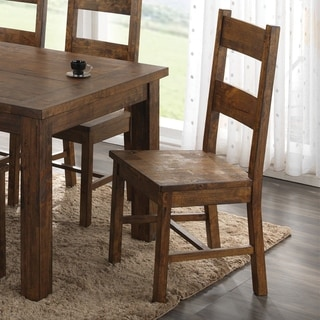 """Coleman Rustic Golden Brown Dining Chair - 18.50"""" x 20.25"""" x 42.25"""""""