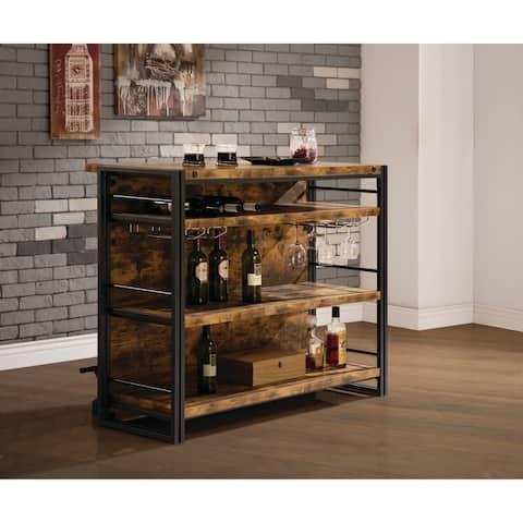 Industrial Antique Nutmeg Bar Unit
