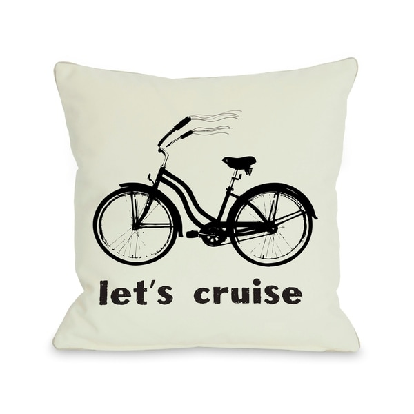 Lets Cruise Pillow by OBC