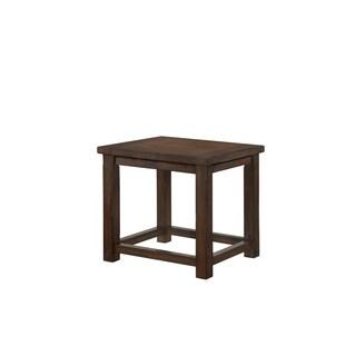 Lane Warm Brown Rectangular End Table
