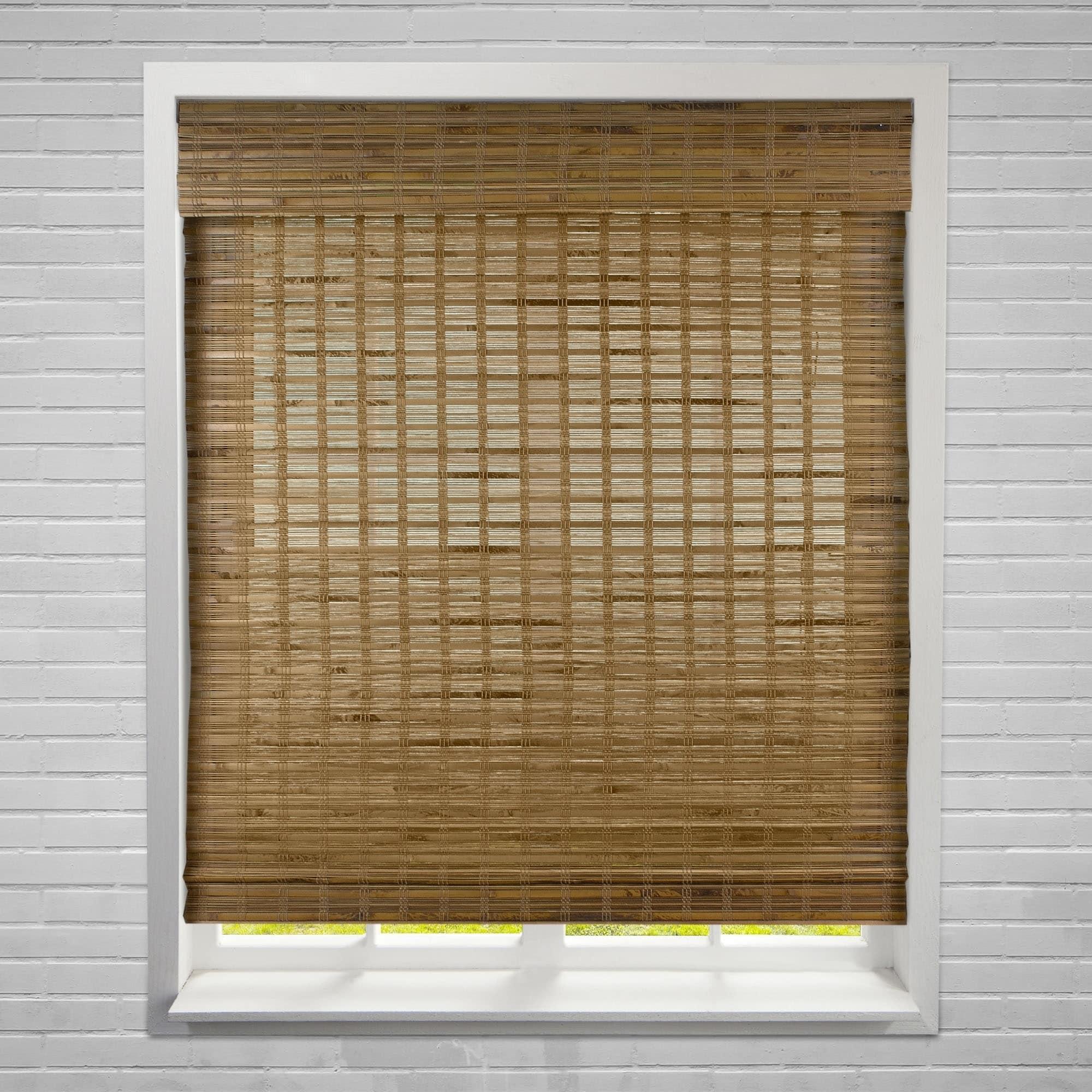 Shop Arlo Blinds Dali Native Bamboo Roman Shades On Sale Overstock 22158775