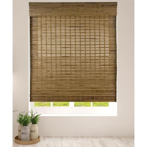 Arlo Blinds Dali Native Bamboo Roman Shades