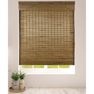 Arlo Blinds Dali Native Cordless Lift Bamboo Roman Shades