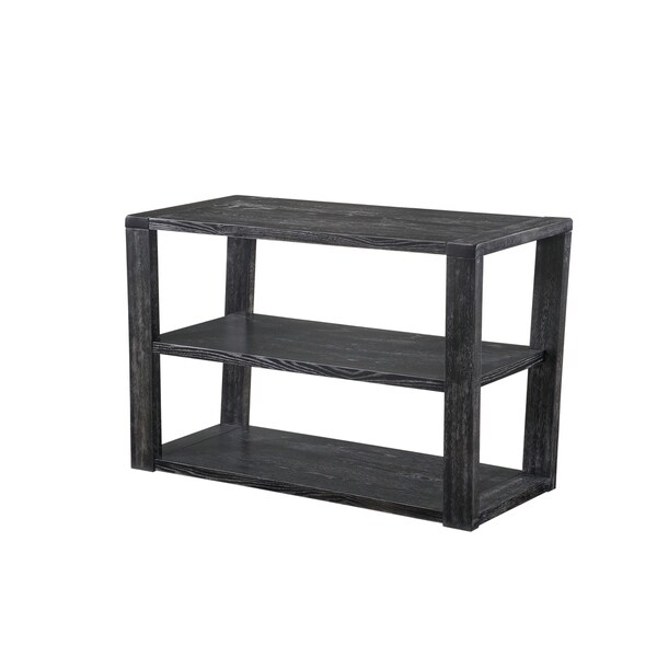 Shop Lane Charcoal Rectangular Sofa Table Free Shipping