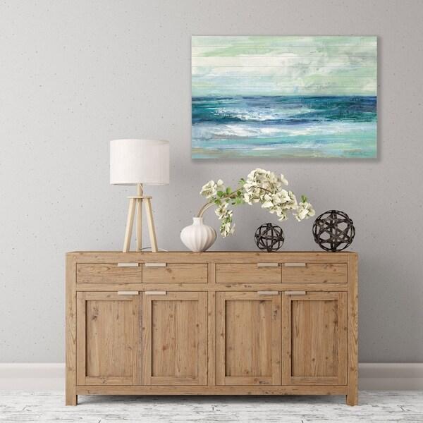 ArtWall's 'Tide' Wood Pallet Art