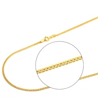 Pori Jewelers 18K Solid Gold Cuban Chain necklace BOXED