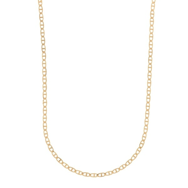 5a84516a5 Shop Pori Jewelers 18K Solid Gold Marina Chain necklace BOXED - On Sale - Free  Shipping Today - Overstock - 22158844