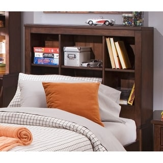 Chelsea Square Youth Burnished Tobacco Twin Bookcase Headboard