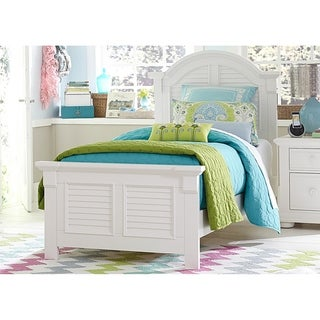 Summer House Youth Oyster White Full Panel Headboard