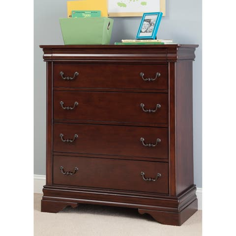 Cherry Louis Phillippe 5-drawer Chest