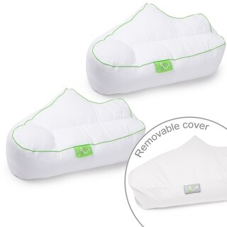 Sleep Yoga 2-Pack Pillow Cover Case for Side Sleeper Arm Rest Posture Pillow - Hypoallergenic, Machine Washable Case