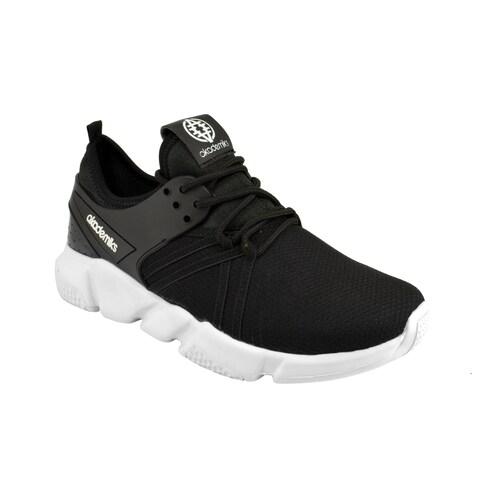 Akademiks Mens Athletic Sneakers - Modern Low-Top Tennis Shoes